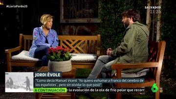 Jordi Évole en Liarla Pardo
