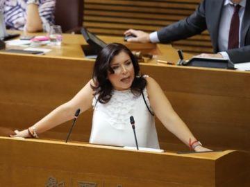 La portavoz de Ciudadanos en Les Corts Valencianes, Mari Carmen Sánchez