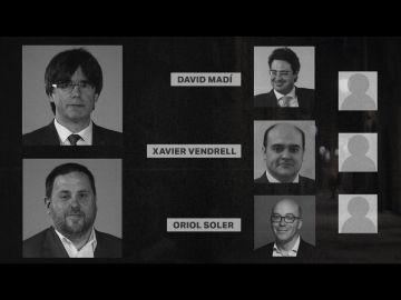 Las caras del 'Estado Mayor'