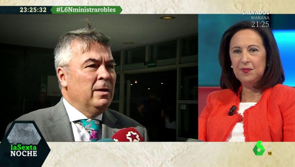 La contundente respuesta de Margarita Robles al abogado de 'La Manada' tras expulsar al militar del Ejército