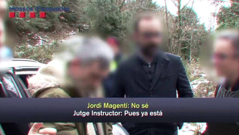 Así reconstruyó Jordi Magentí junto a los Mossos lo que pasó con Marc y Paula en el pantano de Susqueda