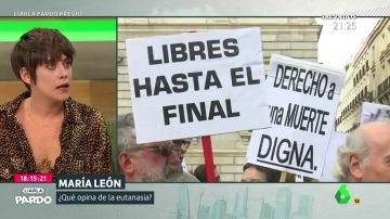 La rotunda reflexión de María León sobre la eutanasia