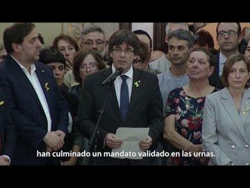 Carles Puigdemont, en Salvados: El dilema
