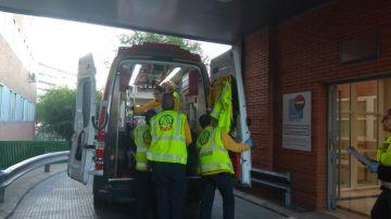 Imagen de archivo de una ambulancia de Madrid