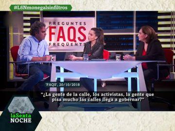 """La """"surrealista"""" entrevista al exalcalde de Medellín en TV3: la presentadora le pregunta en catalán y Ada Colau tiene que hacer de traductora"""