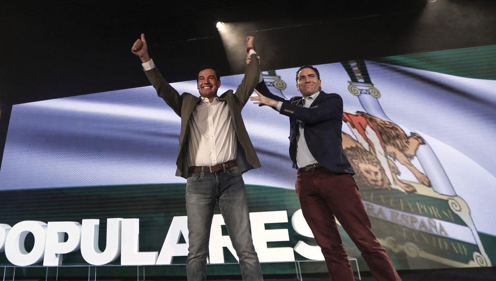 Juanma Moreno y Teodoro García Egea