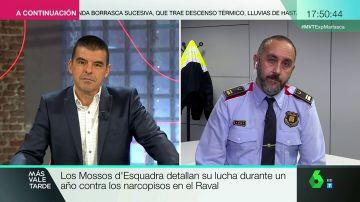"""Antonio Rodríguez, mosso d'Esquadra: """"Los 'narcopisos' son delincuencia organizada con mucha incidencia en la ciudadanía"""""""