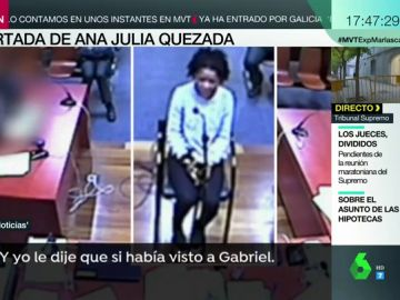 La coartada de Ana Julia Quezada: utilizó a un amigo para alejarse de la escena del crimen