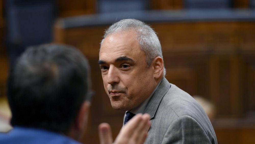 El secretario general del grupo parlamentario socialista en el Congreso, Rafael Simancas