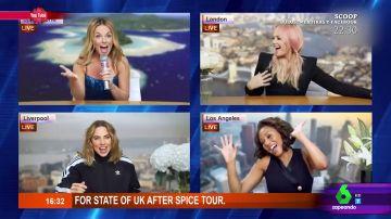 Con lentejuelas y chandal: así es el divertido vídeo con el que las Spice Girls anuncian su gira para 2019
