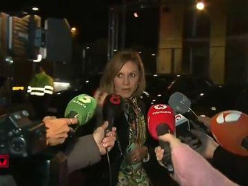 María Dolores de Cospedal responde a la prensa