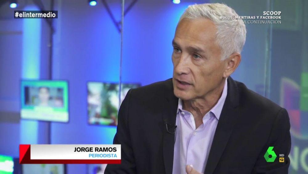 """Jorge Ramos analiza la crisis migratoria en la era Trump: """"Nos llaman violadores, nos atacan en las redes sociales, hay un clima antimigrantes como nunca había visto"""""""