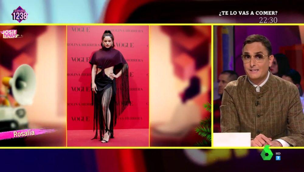 Josie analiza los looks de Rosalía