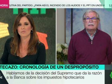 """Joaquín Giménez: """"Los jueces tienen que interpretar la ley desde unos valores que no son los que cotizan en Bolsa"""""""