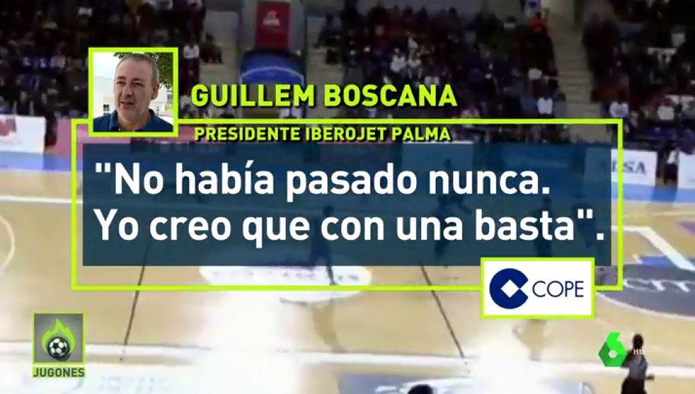 """Polémicas declaraciones del presidente del Iberojet Palma: """"Nunca vi un partido de LEB con dos mujeres de tres árbitros. Con una basta"""""""