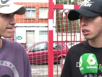 """Estafados por un falso representante en Argentina: """"Nos dijeron que nos iban a presentar al Cholo y al Mono Burgos"""""""