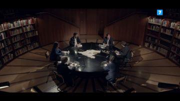 Jordi Évole con presidentes autonómicos en Salvados
