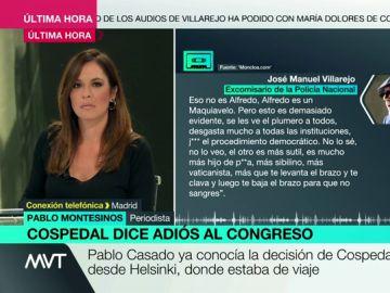 """Pablo Montesinos: """"Un sector importante del PP sugería que Cospedal dimitiera. Casado ya conocía su decisión"""""""