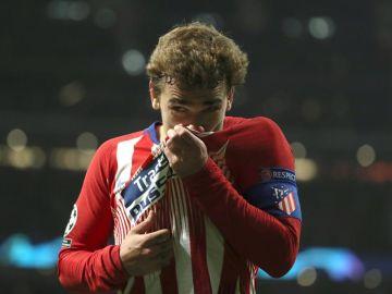 Antoine Griezmann, atacante del Atlético de Madrid.
