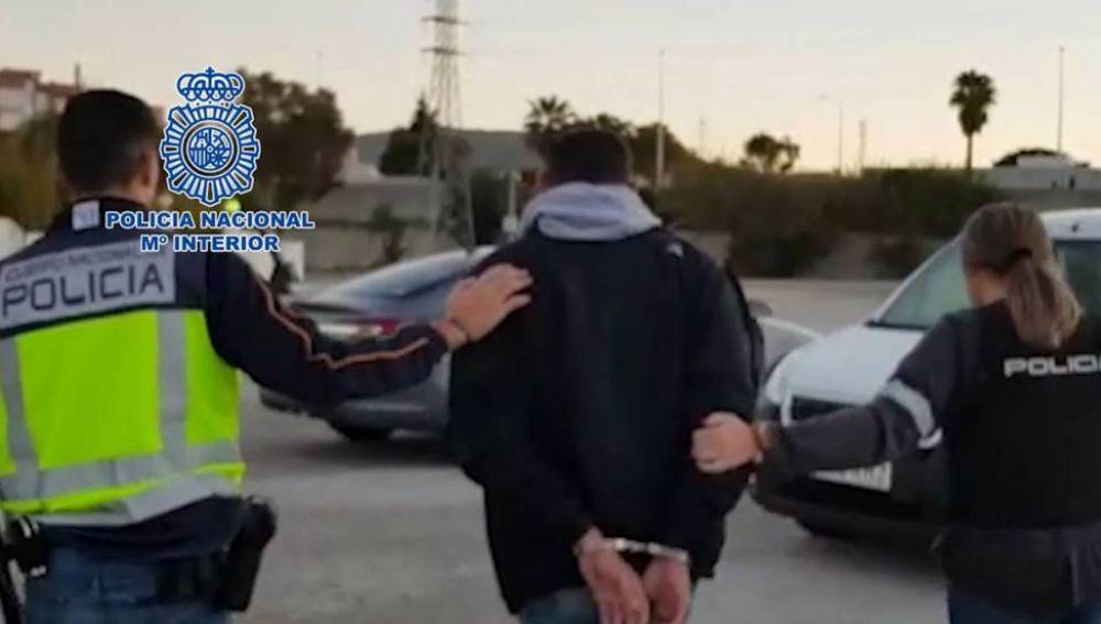 Imagen de uno de los buzos detenidos en Algeciras