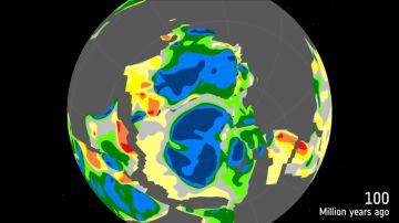 Un satélite muerto descubre masa continental debajo de la Antártida Oriental