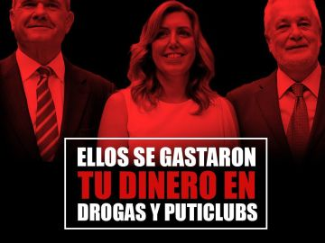 Uno de los carteles difundido por las juventudes del PP en Andalucía