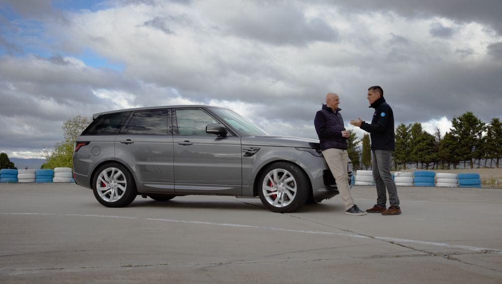 Range Rover enchufable, Fernando Gómez Blanco y Javier Reyero