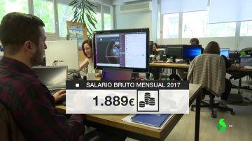 2017, otro año de salarios estancados