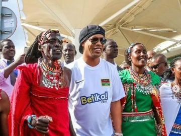 Ronaldinho, foto de archivo