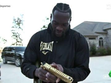 """Deontay Wilder, el boxeador con un arsenal en casa: """"Tengo armas suficientes para un ejército"""""""