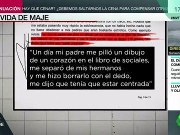 Buena estudiante, religiosa y muy familiar: así fue la infancia de Maje, implicada en el crimen de Patraix