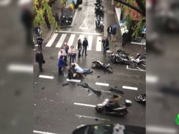 Una niña de 10 años, muy grave tras un sufrir un atropello múltiple accidental en Barcelona