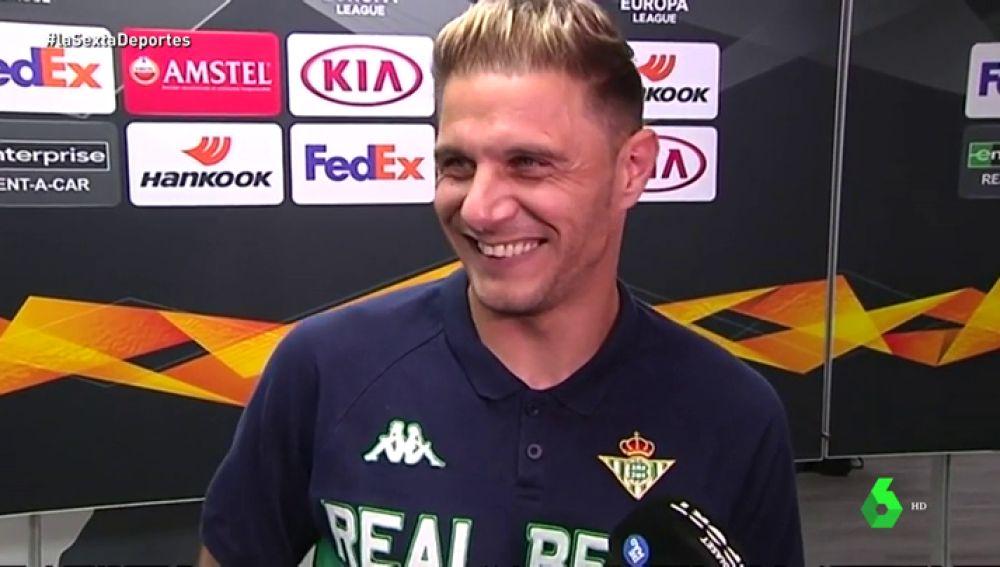 """Joaquín recuerda su 'italiano' ante el Milan: """"Alguno me habló así y yo dije 'no capisce"""""""