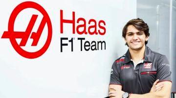 Pietro Fittipaldi, piloto probador de Haas