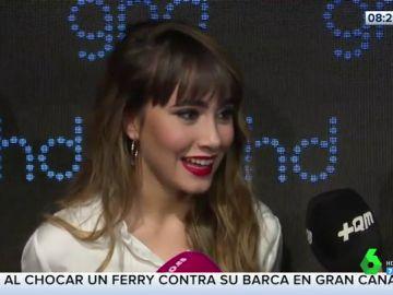 Aitana habla de su vida sentimental: Miguel Bernardeau y Cepeda