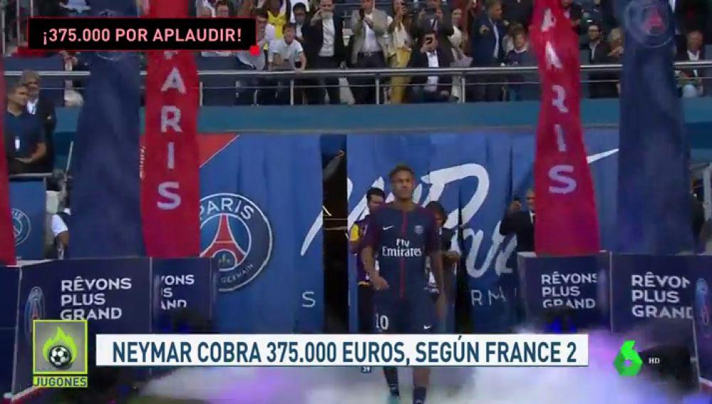Las primas de algunos jugadores del PSG por respetar el código ético: Neymar cobra 375.000 por aplaudir a la afición tras los partidos