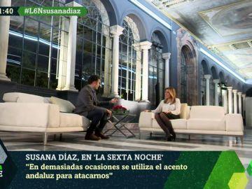 """Susana Díaz: """"No han encontrado ni una mancha en mi Gobierno en cinco años"""""""