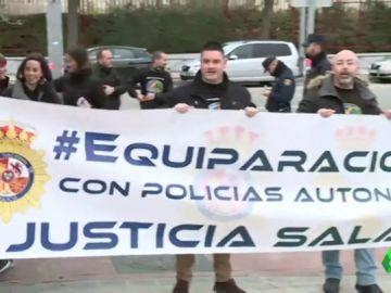 Manifestación Jusapol