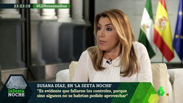 """Susana Díaz hace autocrítica sobre el caso de los ERE: """"Fallaron los controles evidentemente"""""""