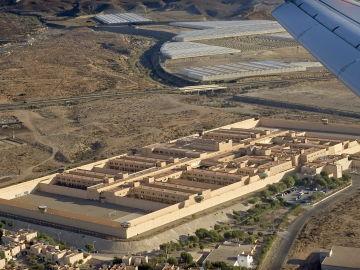 Vista aérea del centro penitenciario almeriense El Acebuche.