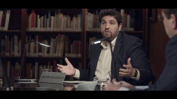 Fernando López Miras, en Salvados: el rompecabezas español