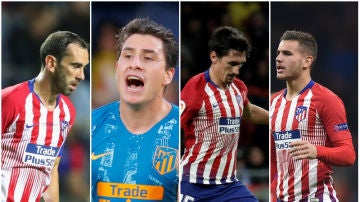 Los centrales del Atlético