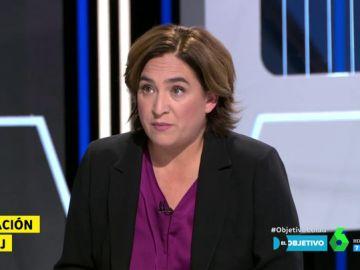 """Ada Colau: """"Hay una cúpula judicial elegida de forma política y eso forma parte de su descrédito"""""""