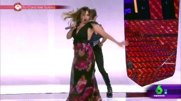Chenoa imita a Shakira