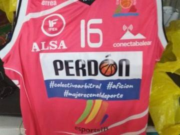 La camiseta de disculpa del Iberojet Palma