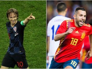 Croacia - España, partido de la Nations League