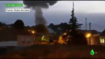 Al menos dos muertos en la explosión en una fábrica de pirotecnia de Guadix, Granada