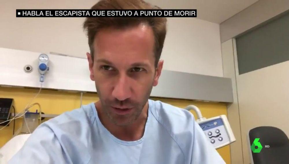 Pedro Volta, el ilusionista que quedó inconsciente tras un truco de escapismo fallido