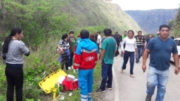 Accidente mortal en Perú de siete juveniles de fútbol