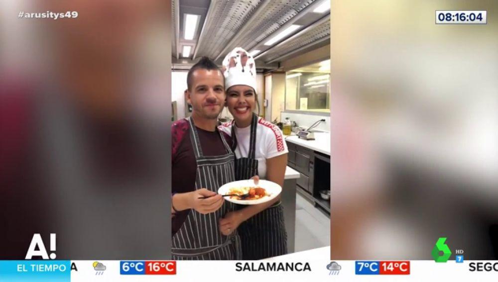 Entre susto y susto, así es el desternillante vídeo de la tortilla de patatas de Cristina Pedroche con Dabiz Muñoz